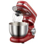 Red color Biolomix Stand Mixer