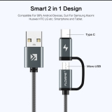 Magnetic USB Type C Cable QC3.0